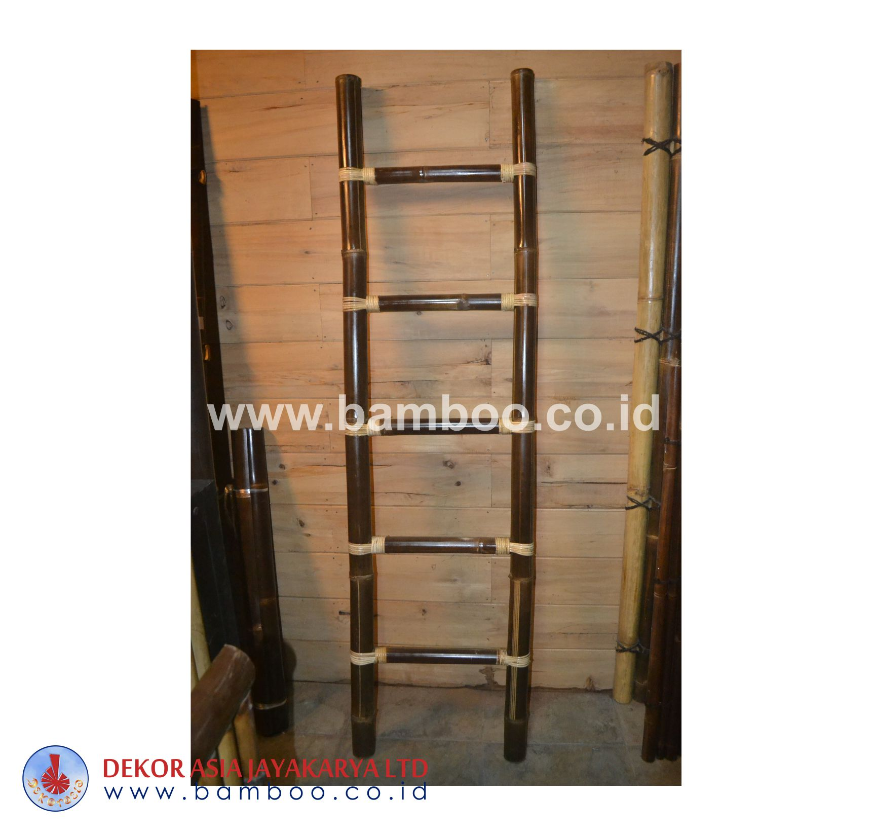 Black Bamboo Ladder