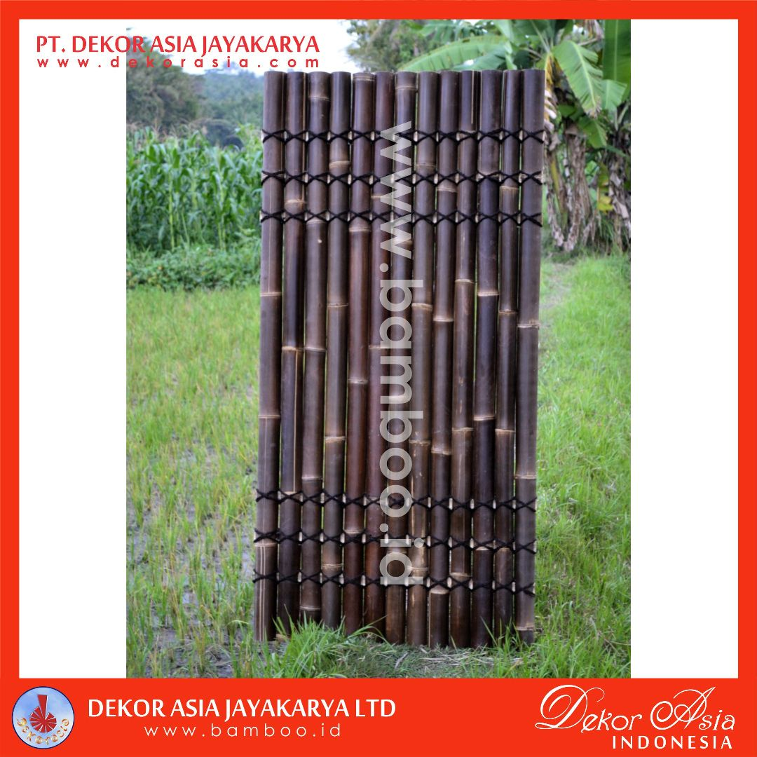 Bamboo Fencing and Screening With 6 Back Bamboo Slats