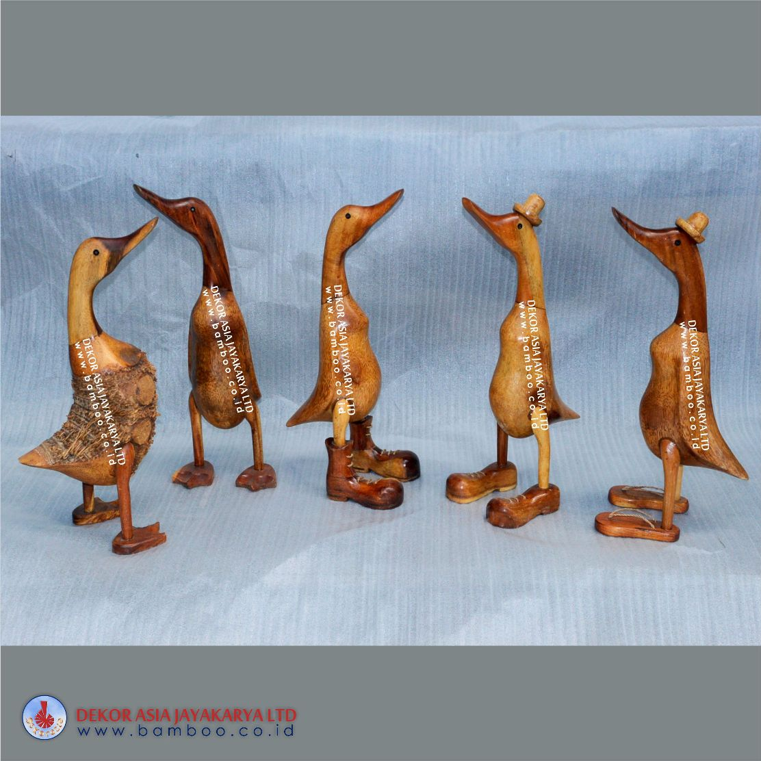 Bamboo Root Ducks - Bamboo Root Crafts - Bamboo Roots